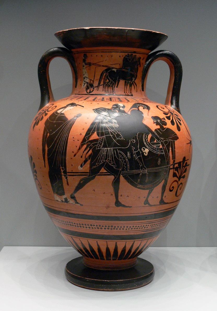 Almac n de cl sicas la figura de eneas en la cer mica griega for Figuras ceramica
