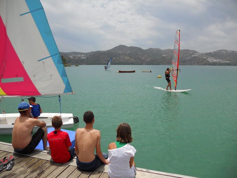 1ªs Lecciones de Windsurf AFAN