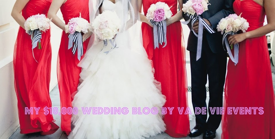My Splendid $10,000 Wedding by Vera Devera | budget wedding