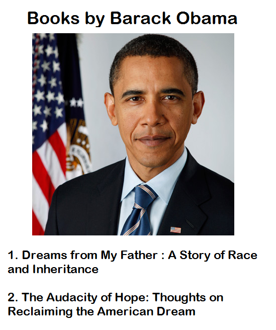 Books by Barack Obama