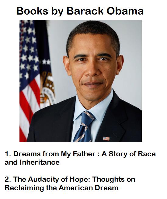 Books by Barack Obama
