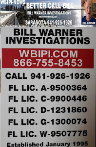 BILL WARNER INVESTIGATIONS WEBSITE