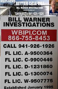 BILL WARNER INVESTIGATIONS WEBSITE