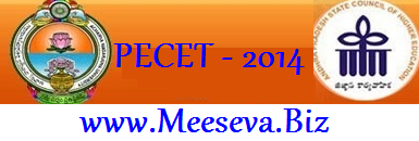 PECET 2014 Notification Online Application