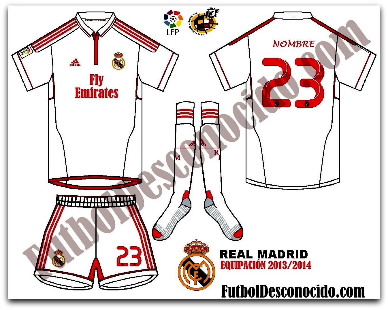 Equipación Secreta del Real Madrid 2014