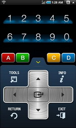 Samsung TV Remote Control Android App available for free download