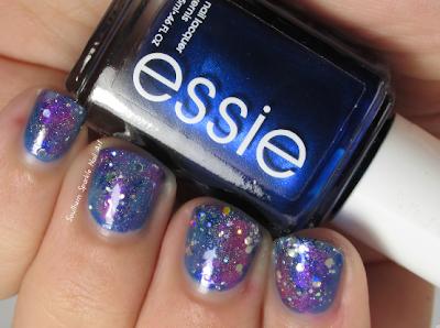 southern sparkle nail art galaxy nails