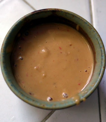Thai chili peanut sauce