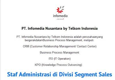 lowongan kerja staf admin di pt infomedia agustus 2015