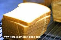 resep praktis (mudah) membuat (mengolah) makanan roti tawar spesial enak, gurih, lezat