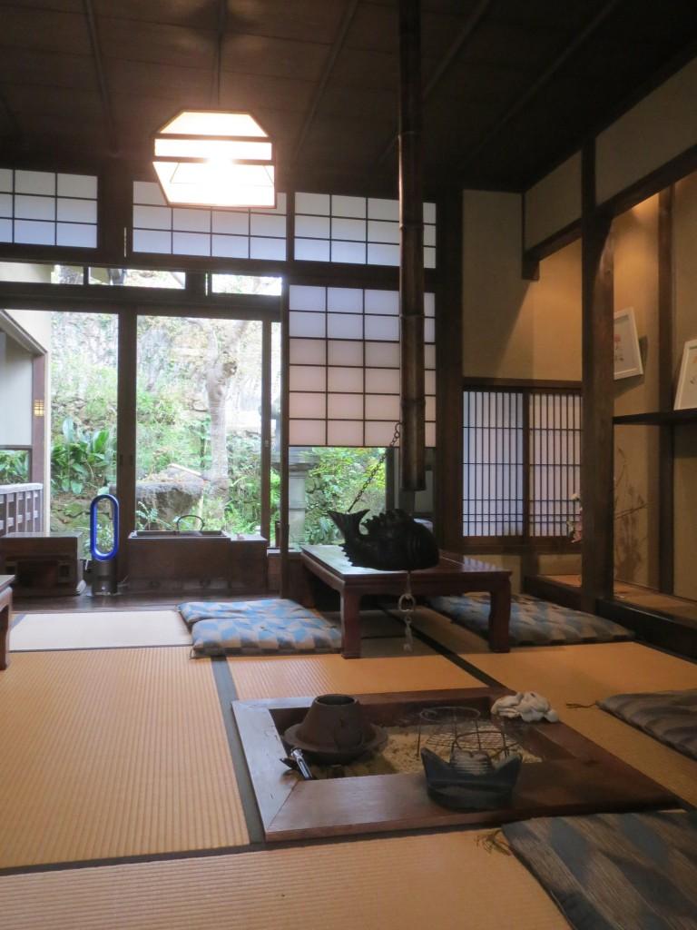 Interieur japonais de maison moderne for Interieur japonais