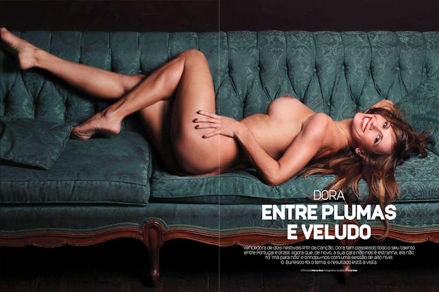 Dora na Playboy Portugal
