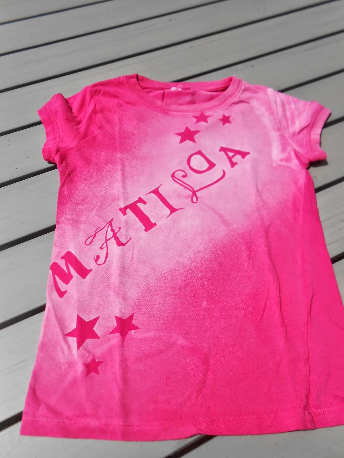 Frau Tschi-Tschi: DIY: T-Shirt Design mit Bleiche