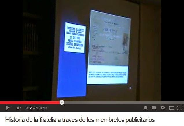 HISTORIA DE LA FILATELIA A TRAVÉS DE LOS MEMBRETES PUBLICITARIOS (LUÍS ALEMANY INDARTE)
