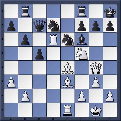 Echecs & Tactique : Les Blancs jouent et gagnent en 7 coups
