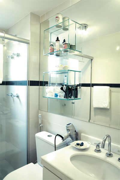 Fika a Dika  Por um Mundo Melhor Prateleiras no Banheiro -> Nicho Para Banheiro Em Acrilico