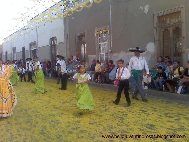 Grupo de Danza de Casa de la Cultura Juventino Rosas