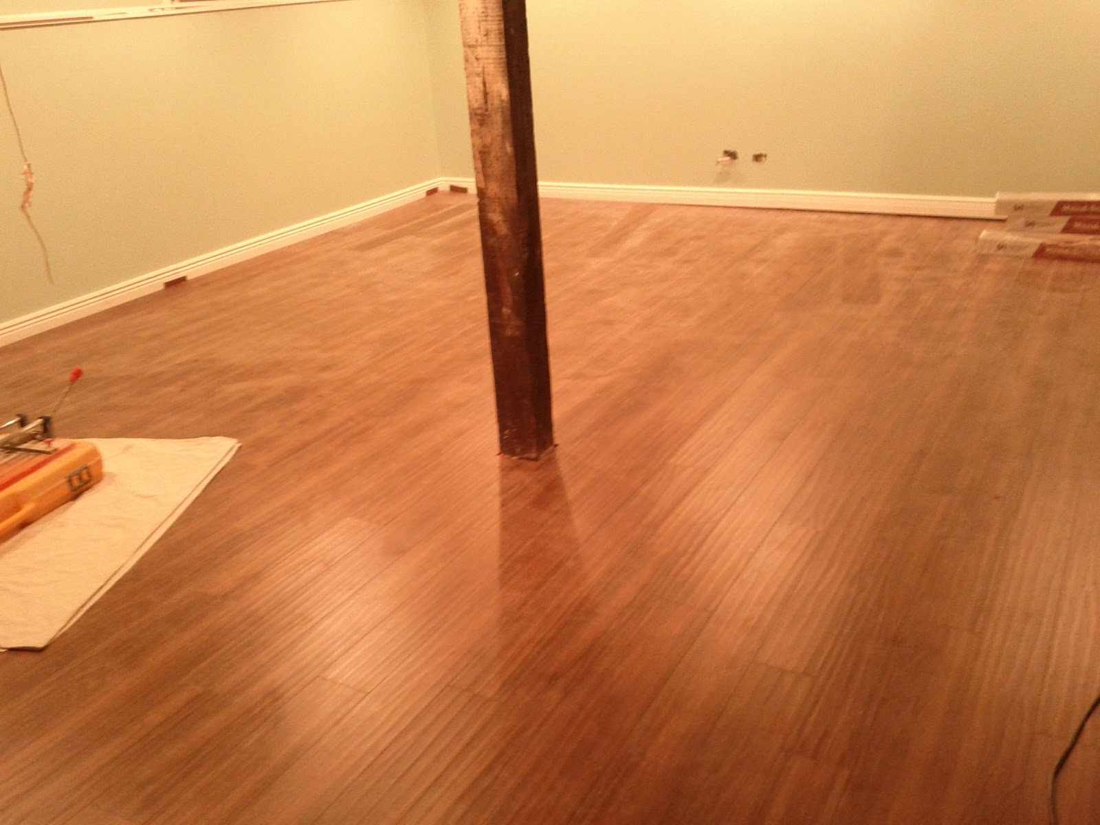 Basement Laminate Flooring Installation