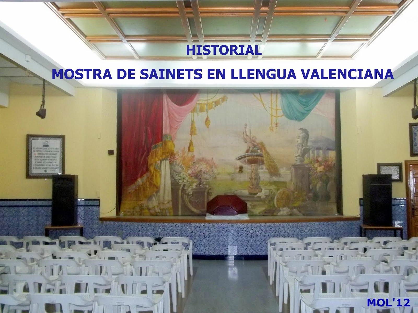 21.05.15 MOSTRA DE SAINETS EN LLENGUA VALENCIANA DE MANISES, HISTORIAL 2006 16