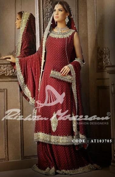 Rizwan Moazzam Bridal Collecton 2014