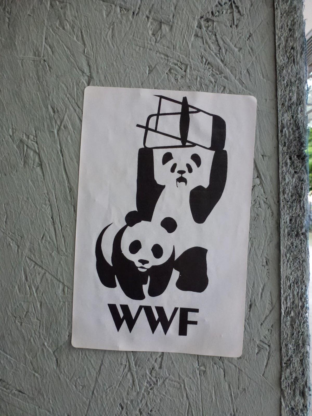 Streetart, Sticker, Urbanart