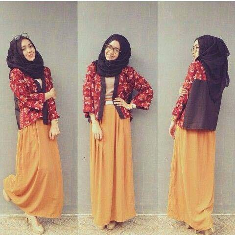 Jupe longue 2014 hijab
