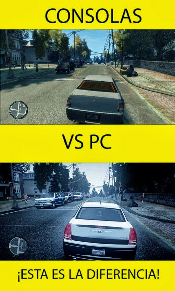 Consolas vs. Pc's