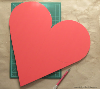 how to draw a heart without a template - tutorial
