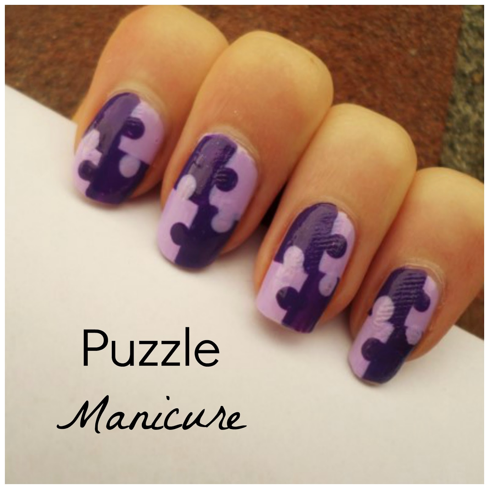 Creativenails4fun: ~Nail art~ Puzzle manicure!