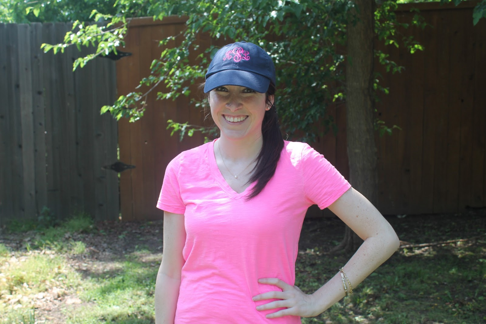 preppylove: Review: Marley Lilly Monogrammed Baseball Hat