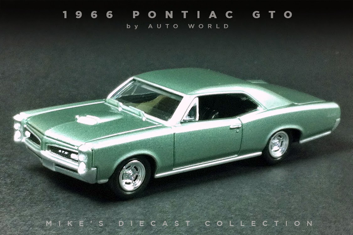 Mike s Diecast Collection 1966 Pontiac GTO