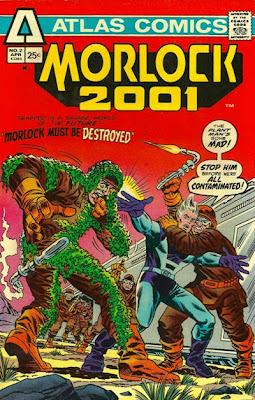 Morlock 2001 #2, Atlas Comics