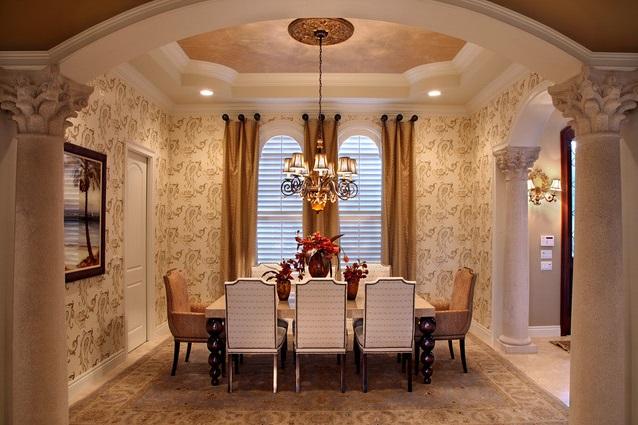 rideaux salle à manger