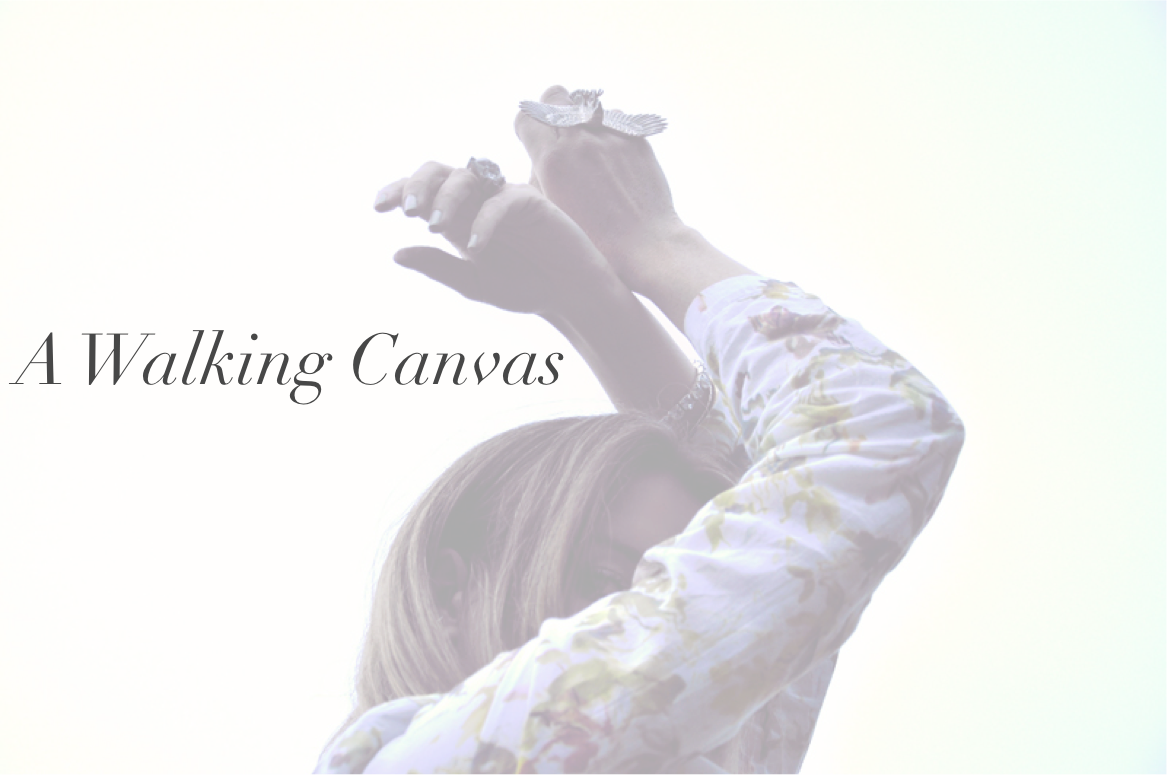 A walking canvas