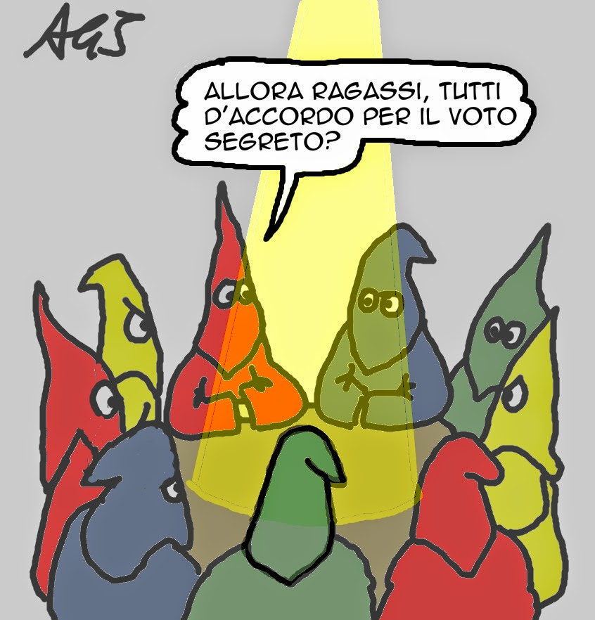 italicum, opposizione, bersani, satira, vignetta