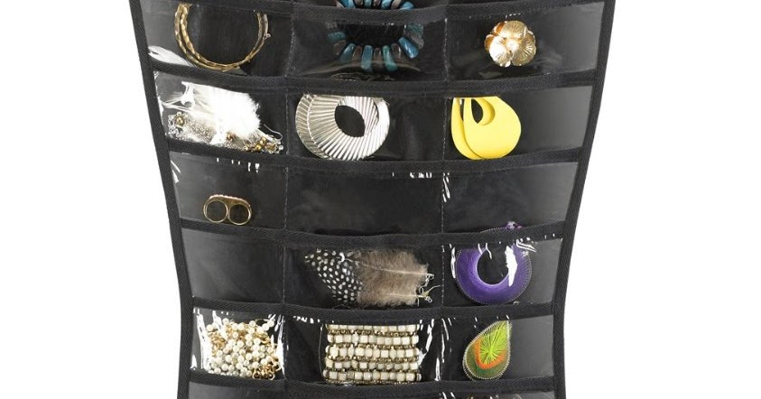 Umbra Little Black Dress Hanging Jewelry Organizer Jewelry To