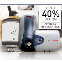 Buy Geysers & Room Heaters upto 58% off Via snapdeal: BuyToEarn