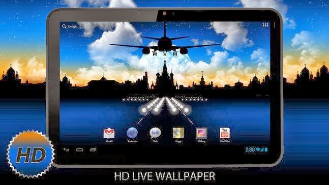 Download Aircraft Pro HD LWP Apk