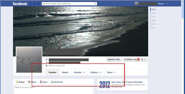 riquadri facebook