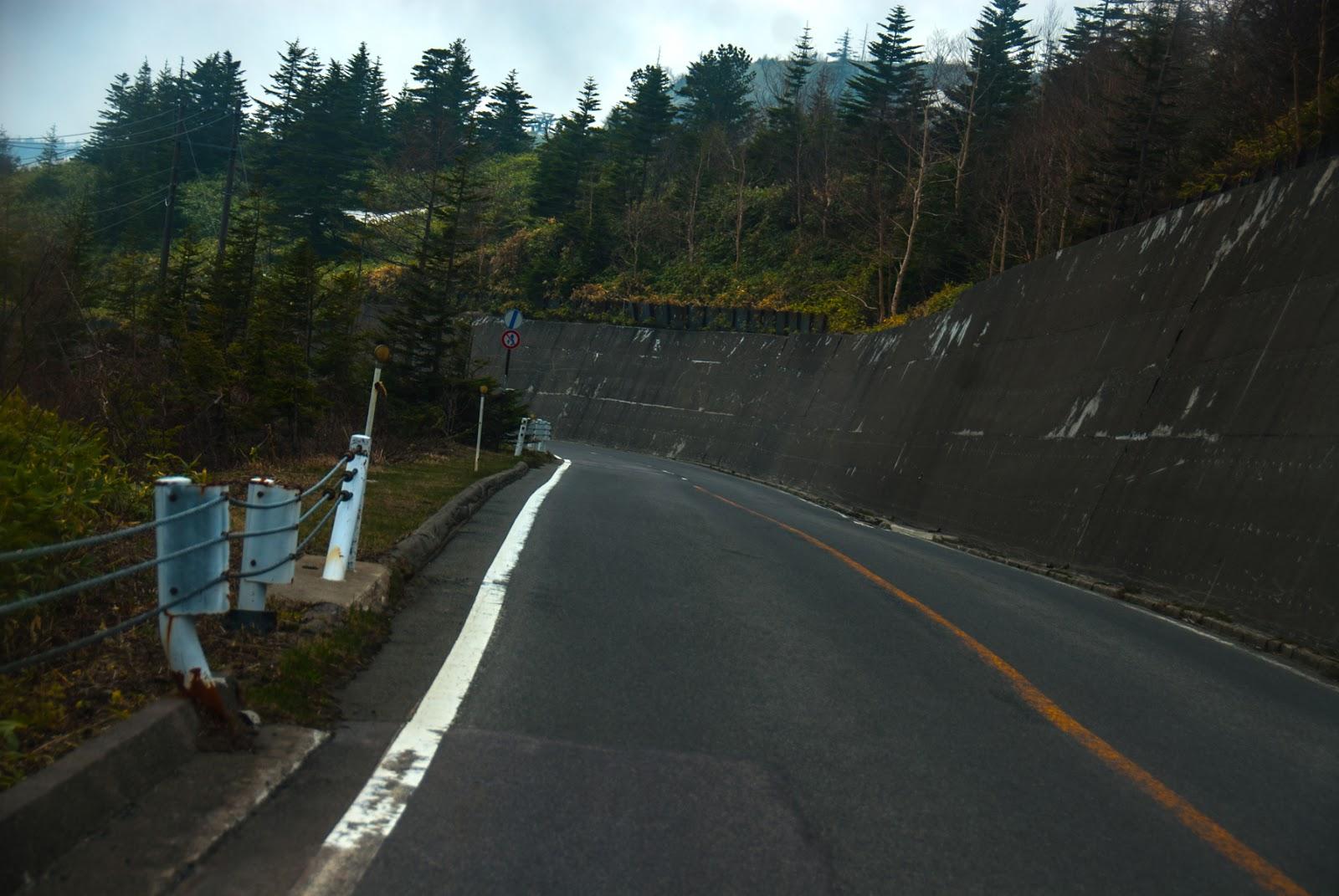 渋峠の坂道はまだまだ続く
