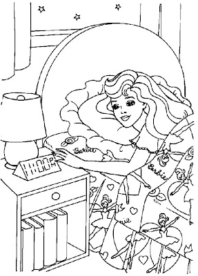 Barbie Coloring Pages Sports
