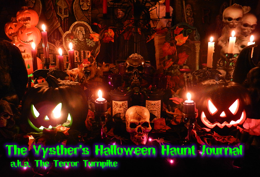 The Vysther's Halloween Haunt Journal