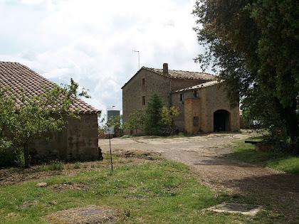 La façana de ponent de la casa Guardiola
