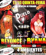 Mc Beyonce e Mc Byana no Evolluttion em Barueri 11/10/12