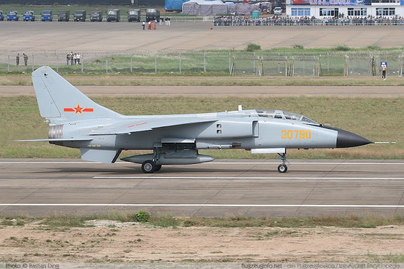 JH-7 Supersonic Fighter Bomber Aircraft