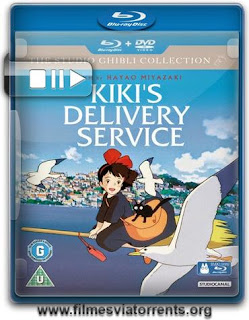 O Serviço de Entregas de Kiki Torrent - BluRay Rip