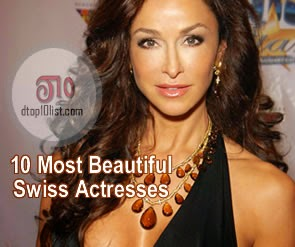 Top 10 Most Beautiful Swiss Actresses