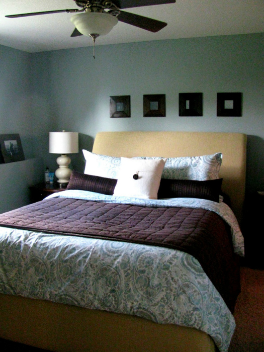 Iheart organizing basement progress bedroom switcharoo for Basement master bedroom