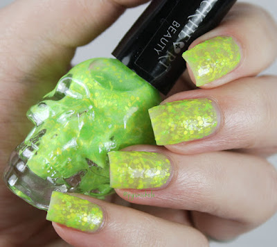 Blackheart Beauty Lime Splatter Glow by Bedlam Beauty