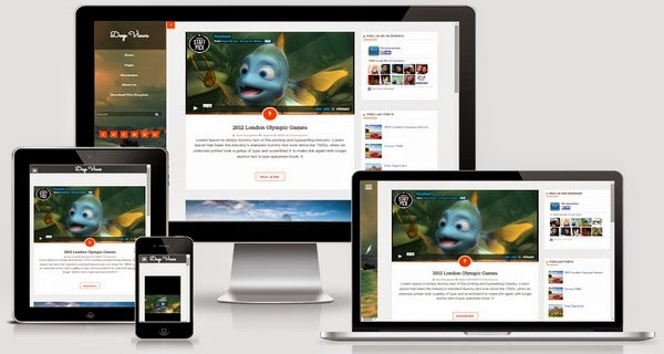 Deep Views Responsive Blogger Template Free Download